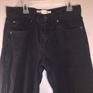 Levi's 550 denim jeans boys 28x28 size 16 relaxed